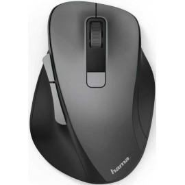 Мышь Hama MW-500 серый оптическая (1600dpi) беспроводная USB для ноутбука (6but)