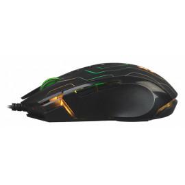 Мышь A4Tech X89 Maze черный оптическая (2400dpi) USB (8but)