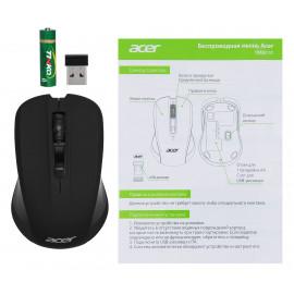 Мышь Acer OMR010 черный оптическая (1200dpi) беспроводная USB (3but)