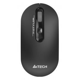 Мышь A4Tech Fstyler FG20 серый оптическая (2000dpi) беспроводная USB для ноутбука (4but)