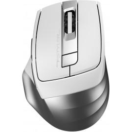 Мышь A4Tech Fstyler FB35 белый/серый оптическая (2000dpi) беспроводная BT/Radio USB (6but)