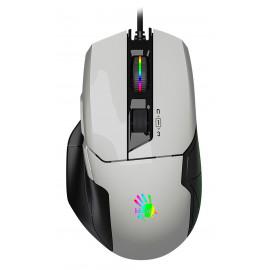 Мышь A4Tech Bloody W70 Max белый/черный оптическая (10000dpi) USB (10but)