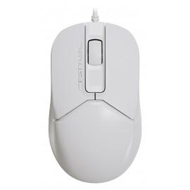 Мышь A4Tech Fstyler FM12 белый оптическая (1200dpi) USB (3but)