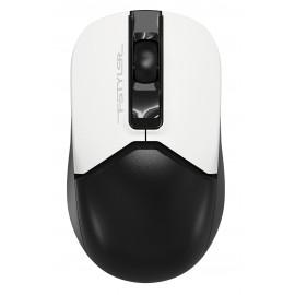Мышь A4Tech Fstyler FG12 Panda белый/черный оптическая (1200dpi) беспроводная USB (3but)