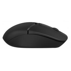 Мышь A4Tech Fstyler FG12S черный оптическая (1200dpi) silent беспроводная USB (3but)
