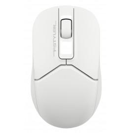 Мышь A4Tech Fstyler FG12S белый оптическая (1200dpi) silent беспроводная USB (3but)