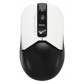 Мышь A4Tech Fstyler FG12S Panda белый/черный оптическая (1200dpi) silent беспроводная USB (3but)