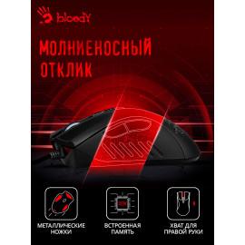 Мышь A4Tech Bloody AL90 Blazing черный лазерная (12000dpi) USB3.0 (8but)