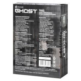 Мышь Оклик 795G GHOST черный оптическая (2400dpi) USB (6but)