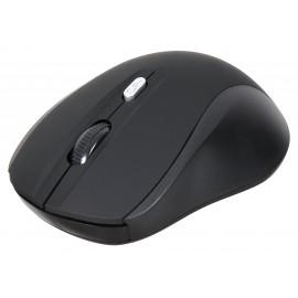 Мышь Оклик 415MW черный оптическая (1600dpi) беспроводная USB для ноутбука (4but)