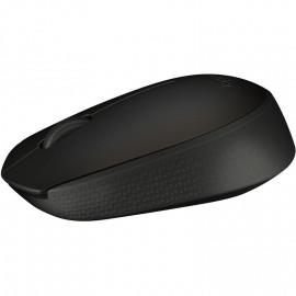 Мышь Logitech B170 черный оптическая (800dpi) беспроводная USB для ноутбука (2but)