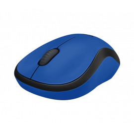 Мышь Logitech M220 синий оптическая (1000dpi) silent беспроводная USB (2but)