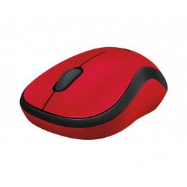 Мышь Logitech M220 красный оптическая (1000dpi) silent беспроводная USB (2but)