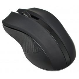Мышь Оклик 615MW черный оптическая (1000dpi) беспроводная USB для ноутбука (3but)