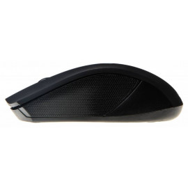 Мышь Оклик 615MW черный/синий оптическая (1000dpi) беспроводная USB для ноутбука (3but)