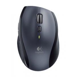 Мышь Logitech M705 серебристый/черный лазерная (1000dpi) беспроводная USB1.1 для ноутбука (5but)