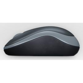 Мышь Logitech M185 серый оптическая (1000dpi) беспроводная USB1.1 для ноутбука (2but)