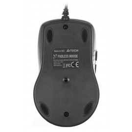 Мышь A4Tech V-Track Padless N-70FX черный оптическая (1600dpi) USB (7but)