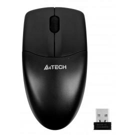 Мышь A4Tech V-Track G3-220N черный оптическая (1200dpi) беспроводная USB для ноутбука (3but)
