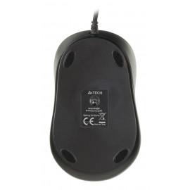 Мышь A4Tech V-Track Padless N-360 красный/черный оптическая (1000dpi) USB (3but)
