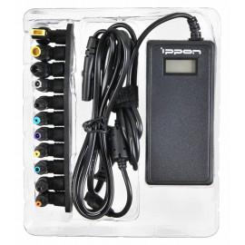 Блок питания Ippon D65U автоматический 65W 15V-19.5V 11-connectors 3.5A 1xUSB от бытовой электросети LСD индикатор