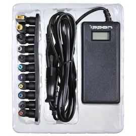 Блок питания Ippon D90U автоматический 90W 15V-19.5V 11-connectors 4.5A 1xUSB 2.1A от бытовой электросети LСD индикатор
