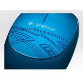 Мышь Logitech M105 синий оптическая (1000dpi) USB (2but)