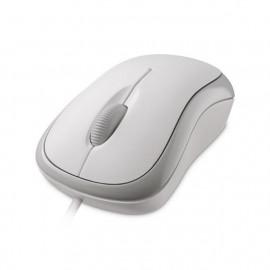 Мышь Microsoft Basic белый оптическая (1000dpi) USB (2but)