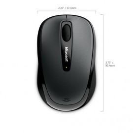 Мышь Microsoft 3500 черный оптическая (1000dpi) беспроводная USB для ноутбука (2but)
