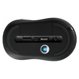 Мышь Microsoft 4000 черный оптическая (1000dpi) беспроводная USB2.0 для ноутбука (3but)