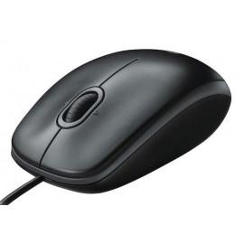 Мышь Logitech B100 for business черный оптическая (800dpi) USB (2but)