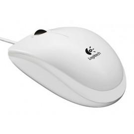 Мышь Logitech B100 белый оптическая (800dpi) USB (2but)