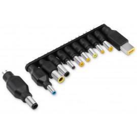 Блок питания Buro BUM-1187H90 ручной 90W 12V-20V 11-connectors от бытовой электросети LED индикатор