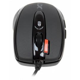 Мышь A4Tech X-718BK черный оптическая (3000dpi) USB (6but)