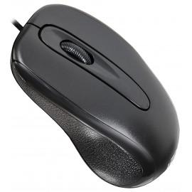 Мышь Оклик 205M черный оптическая (800dpi) USB (3but)
