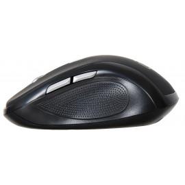 Мышь Оклик 465MW черный оптическая (1600dpi) беспроводная USB для ноутбука (6but)