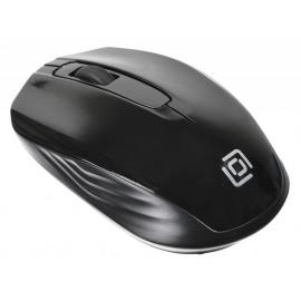 Мышь Оклик 475MW черный оптическая (1000dpi) беспроводная USB для ноутбука (3but)
