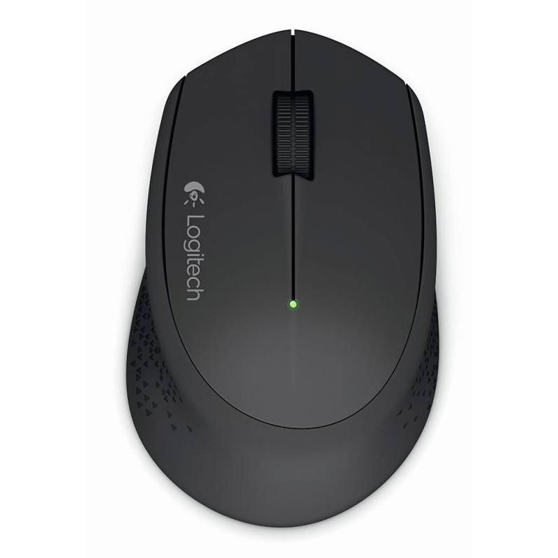 Мышь Logitech M280 черный оптическая (1000dpi) беспроводная USB для ноутбука (2but)