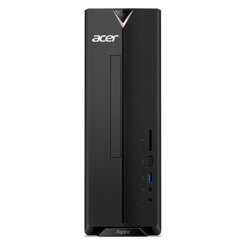 ПК Acer Aspire XC-895 SFF i3 10100 (3.6)/4Gb/SSD256Gb/GT730 2Gb/CR/Endless/GbitEth/300W/черный