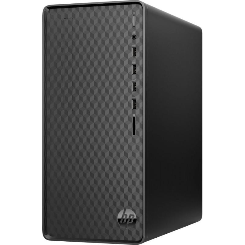 ПК HP M01-F1013ur Ryzen 3 4300G (3.8)/4Gb/SSD256Gb/RGr/CR/Free DOS 3.0/GbitEth/WiFi/BT/180W/черный