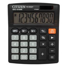 Калькулятор бухгалтерский Citizen SDC-810NR черный 10-разр.