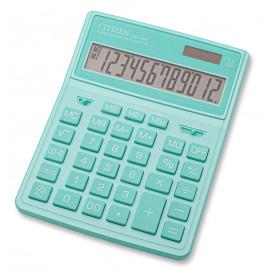 Калькулятор бухгалтерский Citizen SDC-444XRGNE бирюзовый 12-разр.