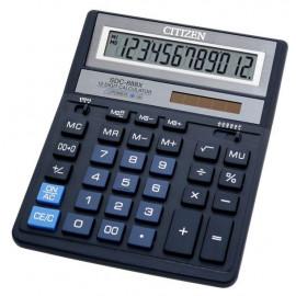 Калькулятор бухгалтерский Citizen SDC-888XBL темно-синий 12-разр.
