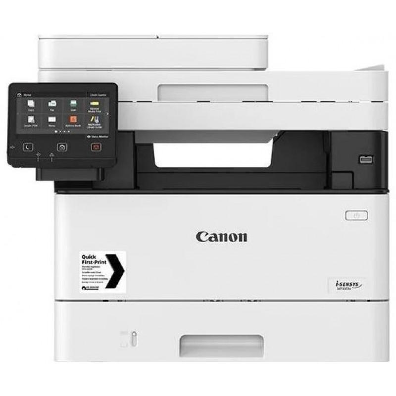 МФУ лазерный Canon i-Sensys MF445dw (3514C061) A4 Duplex WiFi белый/черный