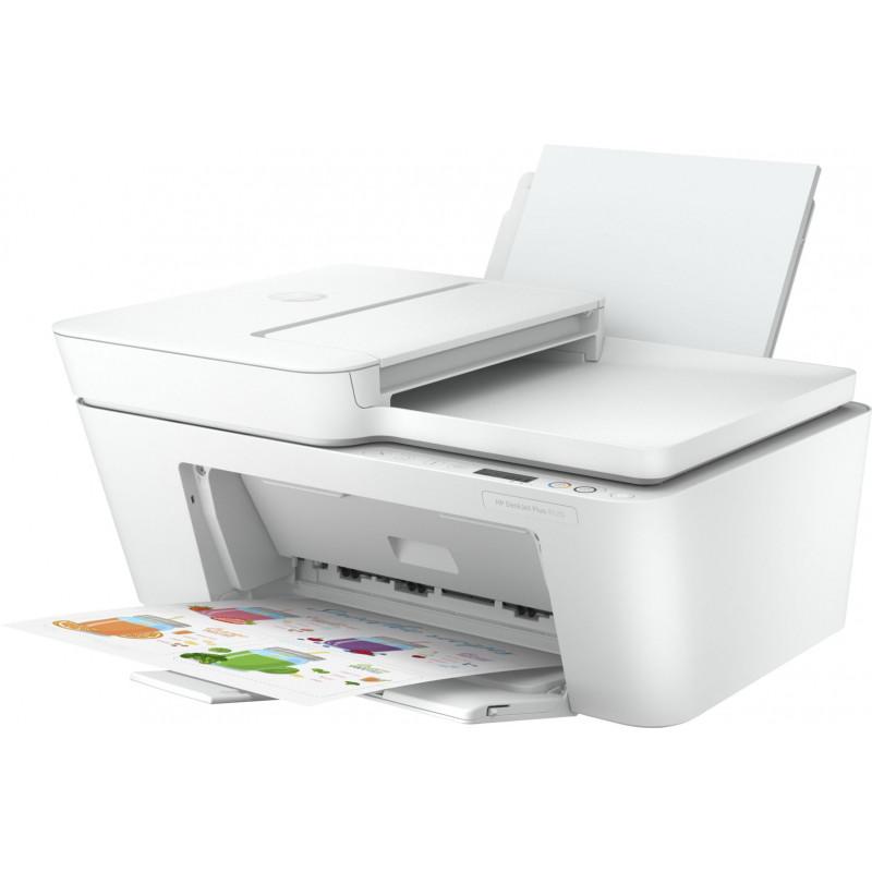 МФУ струйный HP DeskJet Plus 4120 (3XV14B) A4 WiFi USB белый