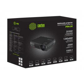 Проектор Cactus CS-PRM.06B.WVGA LCD 2000Lm (1280x800) 1000:1 ресурс лампы:30000часов 2xUSB typeA 2xHDMI 3кг