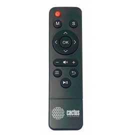 Проектор Cactus CS-PRE.09B.WVGA-W LCD 1200Lm (1280x800) 350:1 ресурс лампы:30000часов 2xUSB typeA 1xHDMI 1.5кг