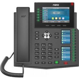 Телефон IP Fanvil X6U черный