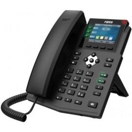 Телефон IP Fanvil X3U черный
