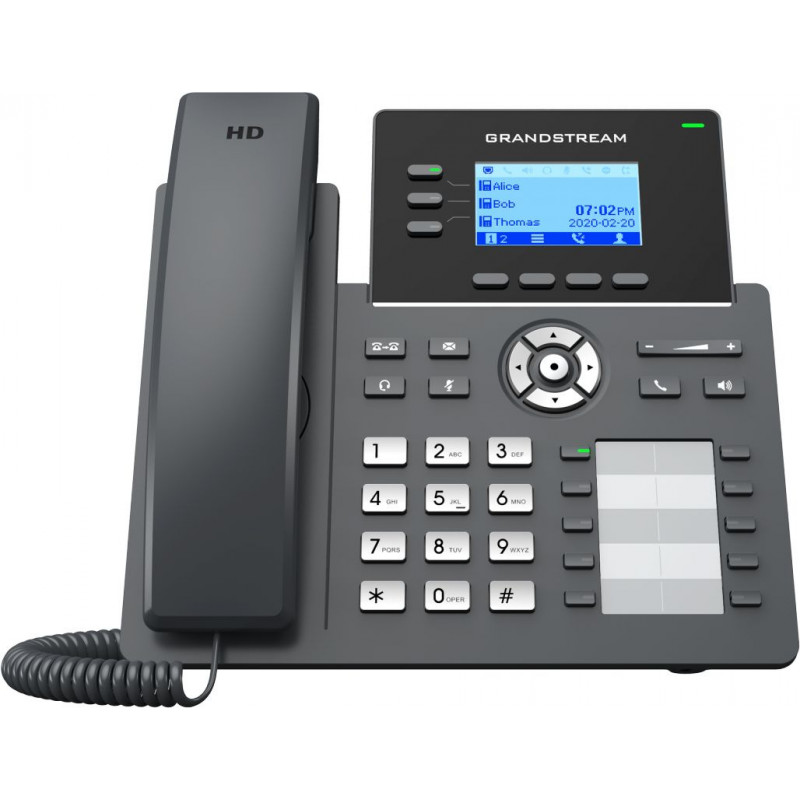 Телефон IP Grandstream GRP-2604 черный